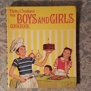 Vintage: Betty Crocker's kids cookbook